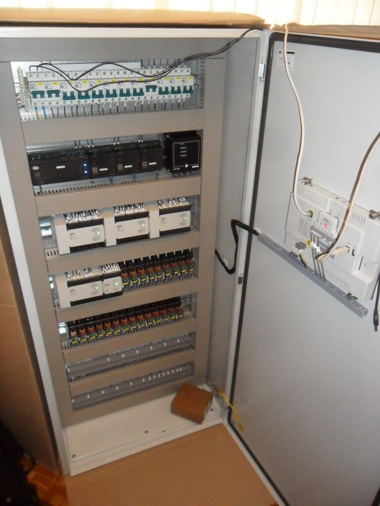 Шкаф управления на 10 эл.котлов