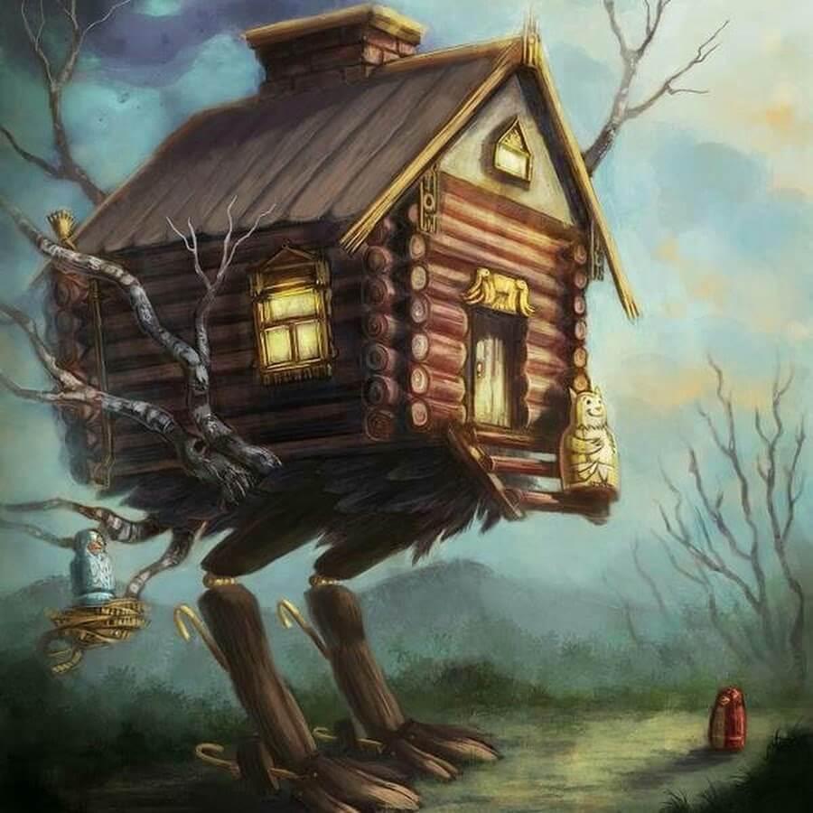 интеллектуальный умный дом. дом Бабы яги. Дом, который понимает твои желания.