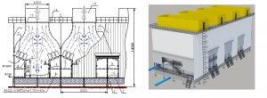 Шкаф управления вентиляторами градирни