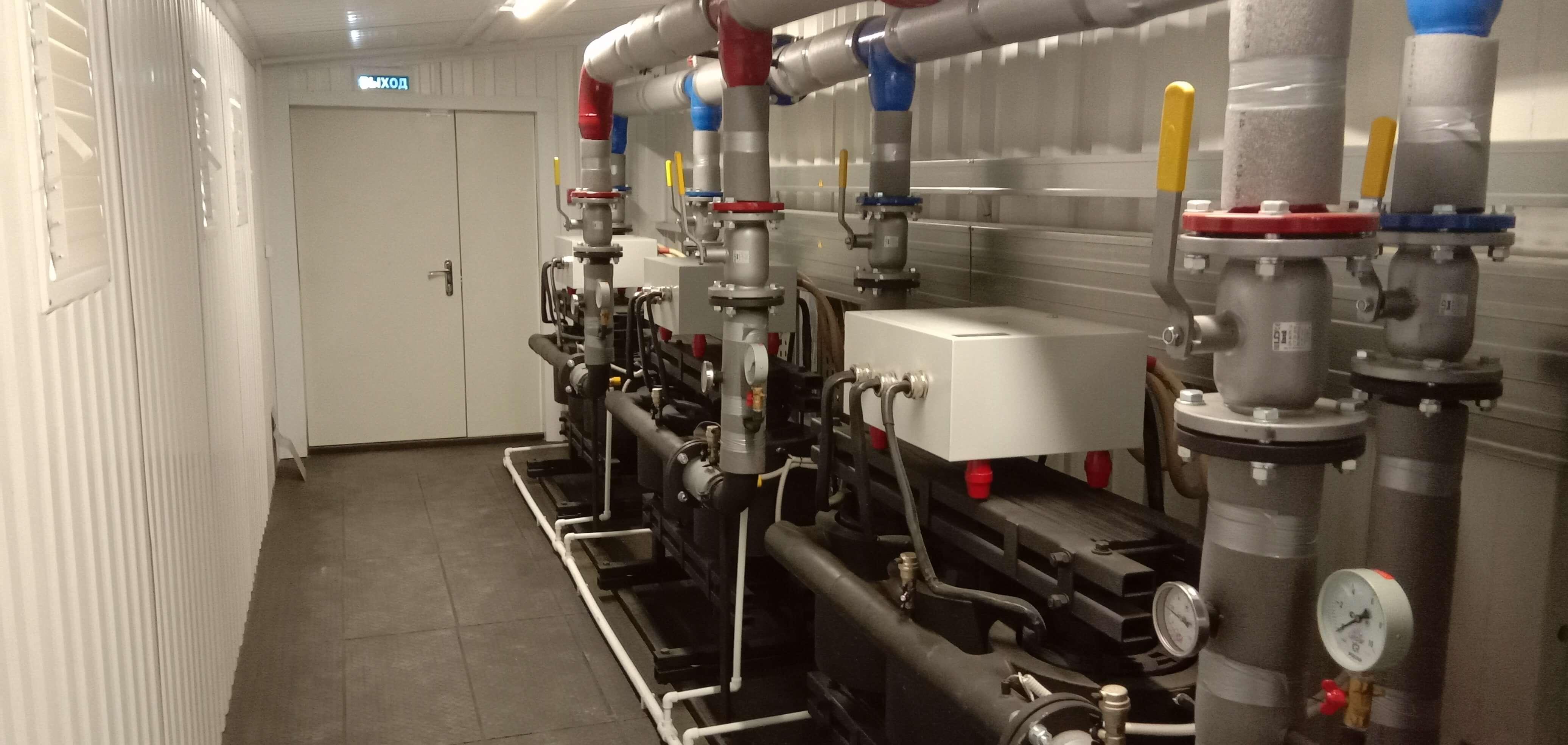 Погодозависимая автоматика системы отопления в котельных