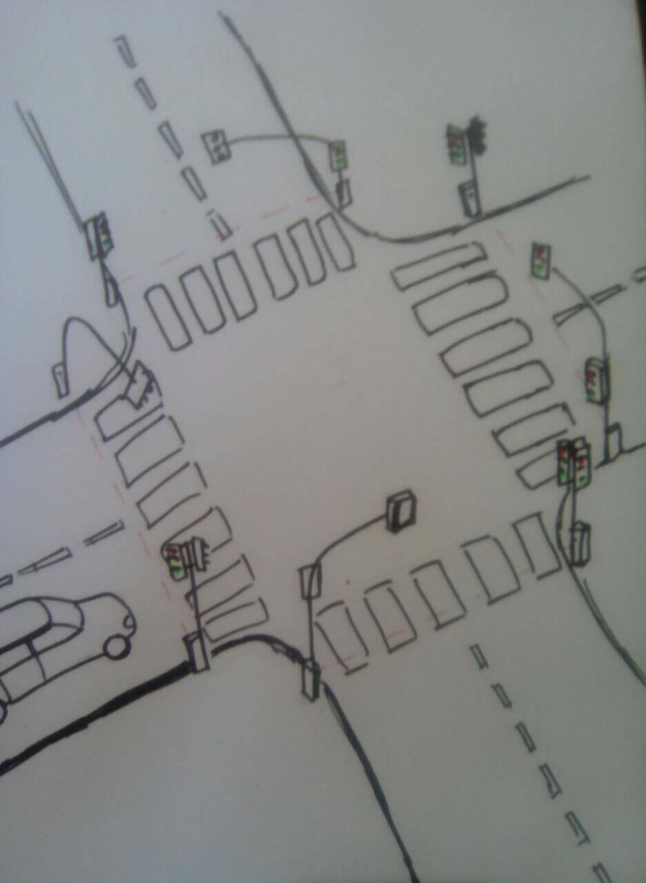 Умный светофор.Идеальный перекресток,свободный от пробок.